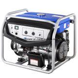 Generador portable de la gasolina de 6500 vatios con la rueda