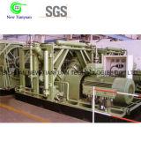350nm3/H Gas-Kompressor der Gasversorgung-4 Hochdruck-CNG der Stadiums-