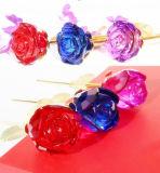 Первоначально цветок Rose кристаллический стекла для подарка