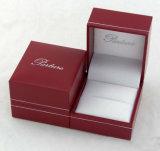 Rectángulo de regalo hecho a mano impreso modificado para requisitos particulares del papel de la joyería para el embalaje