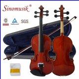 Скрипка студента Sinomusik твердая с сертификатом BV/SGS