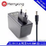 Adaptador universal de la CA del CCTV del adaptador 24W 1A 24V de la potencia del cargador 24V de Shenzhen