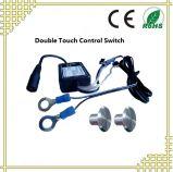Interrupteur à capteur double gradateur à double toucher pour éclairage LED