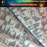 "100% Polyester Gabardine Shirting Tissu Avec Transfert Impression ""Arbre"""