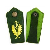 Epaulette uniforme modificado para requisitos particulares alta calidad del uniforme de la divisa de la corrección uniforme del bordado