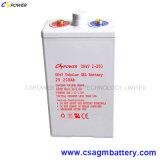 De Batterij 2V 200ah van het Gel van Opzv van Cspower voor ZonneOpslag