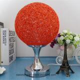 Moderne Art mit Rattan-materieller Tisch-Licht für Dekoration