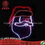 Свет нового мотива света веревочки Santa Claus украшения сада рождества СИД декоративный
