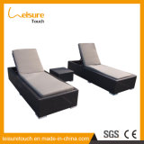 Jardin pliable Balcon Beach Lounge Chaise inclinable pour le soleil