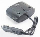 De nieuwe Lader van Auto 2 USB van de Adapter van de Macht van de Aansteker/van de Splitser van de Auto van de Manier van 3 Contactdozen Auto Dubbele voor iPhone voor GPS van de Auto DVR van Samsung