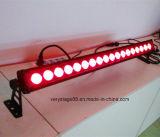 18*10W al aire libre RGBW 4 en 1 arandela de la pared del LED