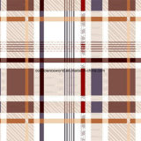100%Polyester Generous Plaid Pigment&Disperse Printed Fabric for Bedding Set
