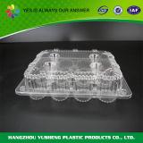 Пластичные одиночные индивидуальные коробки пирожня