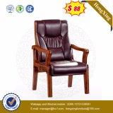 Cadeira Vistor de conferência de madeira do meio-costas (Ns-CF027)