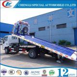 Dongfeng 6 바퀴 4t 평상형 트레일러 구조차 트럭