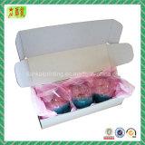 Caixa de embalagem ondulada de cor impressa personalizada, caixa de caixa