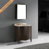 Изогнутый Fed-1032 шкаф тщеты ванной комнаты типа двери