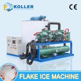 Koller 10 tonnes de grande capacité de vente d'éclaille de générateur de glace chaud utilisé dans la pêche (KP100)