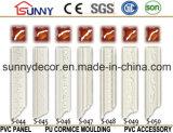 Cornisa de la PU (poliuretano) que moldea para la decoración interior y exterior