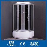 Sitio de baño de ducha de la sauna del vapor del masaje/cabina simples de cristal de la ducha (SW-6690)