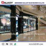 Volledige Transparante Kleur/Video LEIDENE van de Muur Glass/Window Vertoning van het Scherm p5-8 voor de Binnen Openlucht Commerciële Reclame van het Gebruik