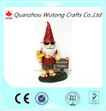 Figurines encantadores do Gnome da venda por atacado feita sob encomenda do ornamento do jardim