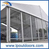 Tente extérieure en aluminium d'entrepôt de qualité avec le mur en verre et le mur d'ABS