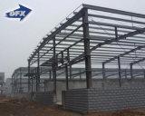 Edificio prefabricado del almacén de 1000 metros cuadrados con la estructura de acero