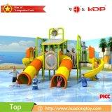 受諾可能なカスタム遊園地の高品質屋外水スライドの運動場