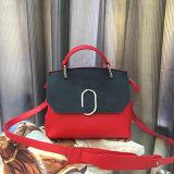 Novo design de couro genuíno bolsas de cor-colsion senhora bolsa de ombro China Fornecedor Emg4948