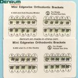 Denrum MIM ortodôntico dental Monoblock suporta Edgewise feito em China