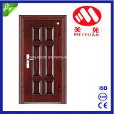 Puerta de acero del nuevo diseño, modelo de la puerta cortafuego