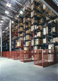 Sistema resistente high-density do racking das/RS