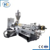 Extrusora de parafuso plástica do gêmeo da máquina do granulador da extrusão de Haisi