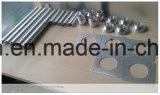 Pièces en aluminium de usinage de précision de commande numérique par ordinateur