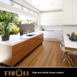 새로운 부엌 디자인 단단한 나무 백색 옷장 전체적인 집 가구 Tivo-057VW