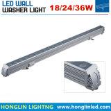 1000mm Aluminium24v/220v 2700k-3200k wärmen weiße Unterlegscheibe der Wand-IP65
