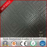Cuoio del PVC per il tessuto della sede di automobile del bus simile con il commercio all'ingrosso di cuoio reale di disegno