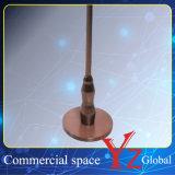 Cremalheira da promoção da cremalheira da exposição da cremalheira do gancho da prateleira de indicador do aço inoxidável de cremalheira de indicador do carrinho de indicador (YZ161802)