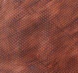 Het in reliëf gemaakte Leer van Pu voor de Schoenen van Handtassen (CF6023)