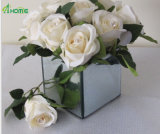 美しい花のためのガラスつぼ