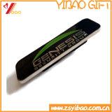 Pegatinas de metal esmaltado personalizada, auto adhesivo de regalo de promoción de la etiqueta de metal (YB-HR-390)