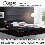 جلد سرير غرفة نوم مجموعة أثاث لازم حديثة, [فب8142]