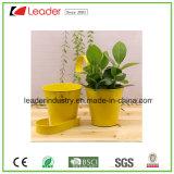 Vasos de metal com Cabide para varanda muro e decoração de paredes