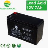 12V 7ah Nachladen-Leitungskabel saure AGM-Batterie
