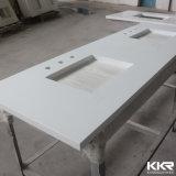 Bancada personalizada da cozinha de Kingknoree superfície contínua