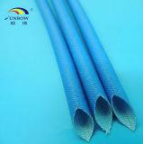 Koker Glassfiber van het Glas Sleeving/van het Silicone van Sunbow UL E333178 RoHS 2.5kv Flex