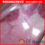 곡물 막 높은 광택 있는 PVC 필름