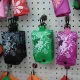 Aufbereiteter Polyester-faltbares Geschenk-kaufender fördernder Beutel