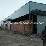 Taller de acero estándar del almacén del edificio en la construcción de la estructura de acero